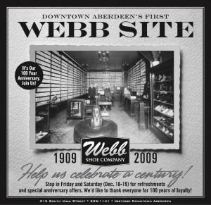 Webb Shoe company