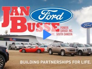 Jan Busse Ford Commercial