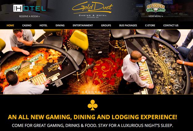 Golddust website aberdeen south dakota