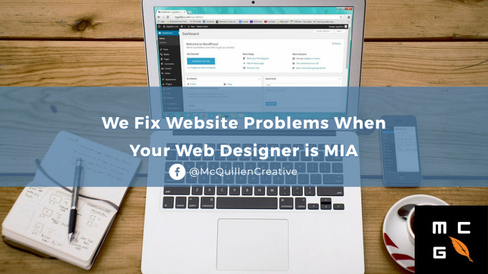 We fix website problems