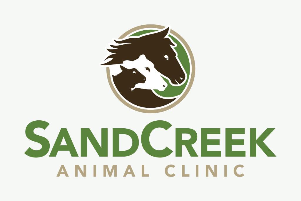 Sand Creek Animal Clinic logo