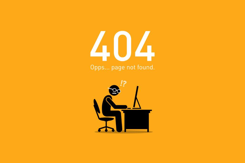 website maintenance problems