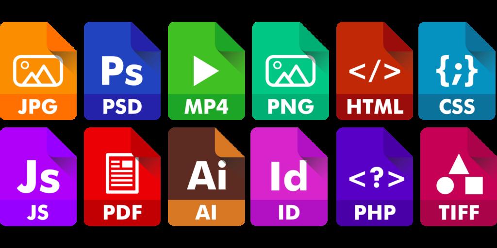 logos for social media files