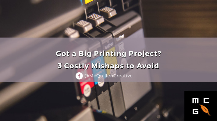 Printing project mishaps