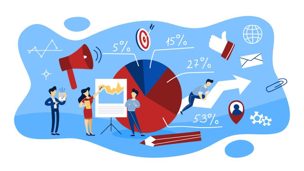 digital advertising illustration