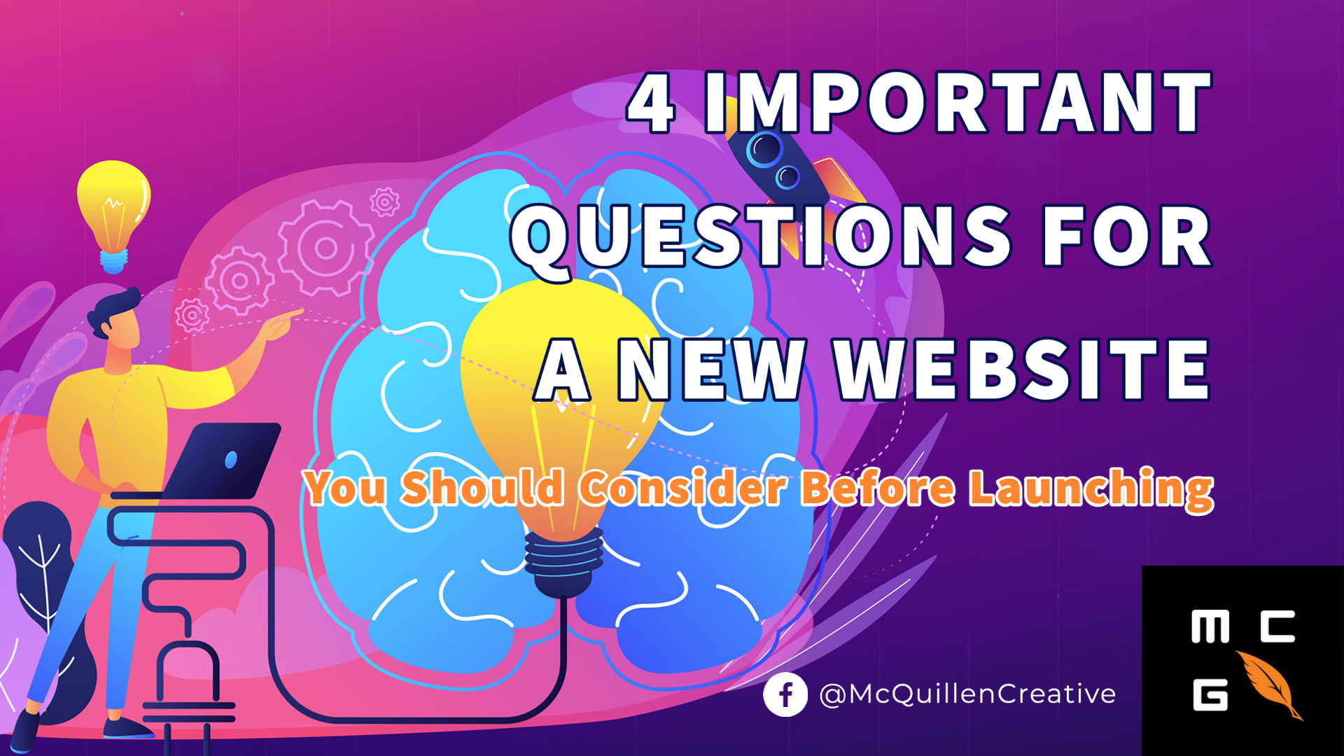 4 Questions for New Websites